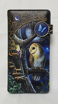 Nemesis Now - Fairy Tale Embossed Purse With Owl - 18.5cm • 15£