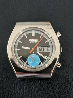 $ CDN126.86 • Buy Seiko Vintage  6139 Chronograph Model 8020, Runs Great, Cool Old Watch!! Low Res