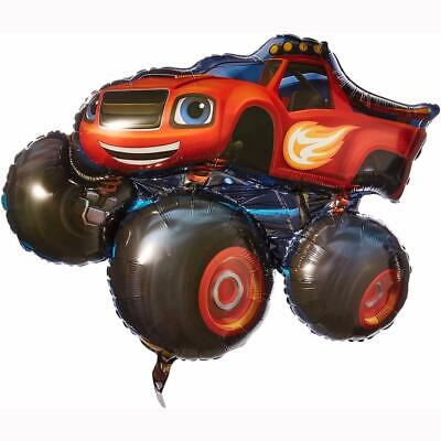 Blaze And The Monster Machines Super Sized 34  Foil Mylar Balloon Birthday Party • 6.59£