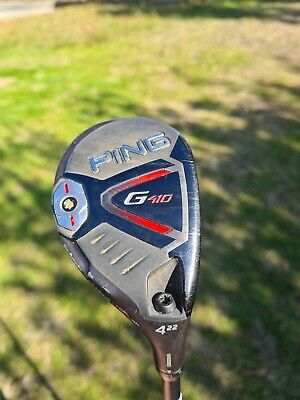 AU259 • Buy PING Right Hand G410 GRH 4 HYBRID. Senior Flex Shaft. WITH HEADCOVER AND WRENCH