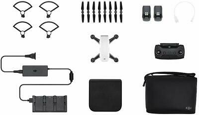 AU152.50 • Buy DJI Spark Fly More Combo UAV / Camera Drone - Alpine White - Refurbished