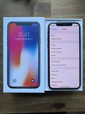 AU310 • Buy Mint Condition Apple IPhone X 256GB Space Grey Unlocked AU Stock With Extra