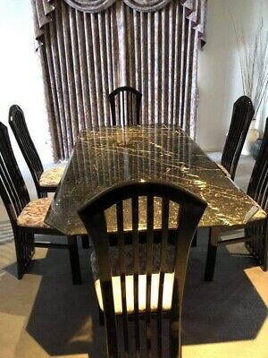 AU300 • Buy Marble Dining Table Set