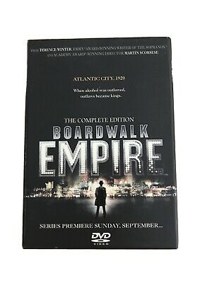 The Complete Edition BOARDWALK EMPIRE.6DVDs • 5£