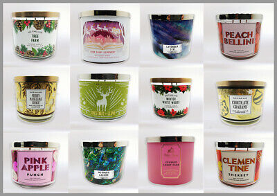 Bath And Body Works 3 - Wick Scented Candles - Home Fragrance-New Winter Arrival • 22.97£