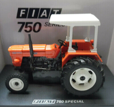 AU100.79 • Buy Model Tractor FIAT 750 SPECIAL 2WD WITH CANOPY 1/32nd SCALE By Universal Hobbies