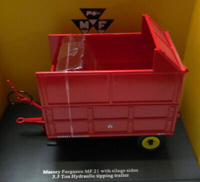 £40 • Buy Model Trailer Massey Ferguson MF 21 3.5 Ton  With 'Silage Sides'  1/32nd By Univ