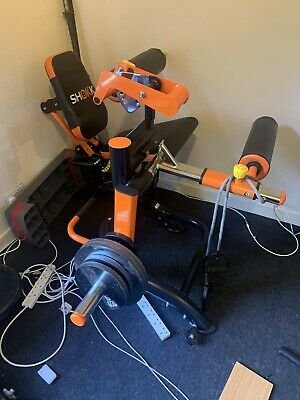 Shokk Leg Curl Machine Not Leg Extension For Hamstrings And Olympic Weights Siz • 1,000£