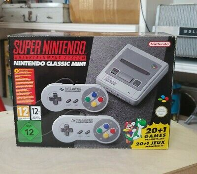 $ CDN198.22 • Buy SNES Classic Mini Edition PAL UK Super Nintendo Brand New Factory Sealed