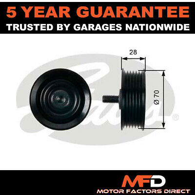 £20.94 • Buy Gates Drive Belt Deflection Guide Pulley 2528727060 2528727060