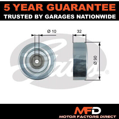 £28.90 • Buy Gates Drive Belt Deflection Guide Pulley MD368209