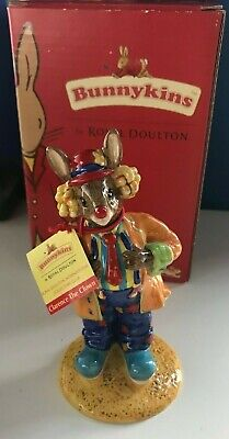 Royal Doulton Bunnykins Figurine  Clarence The Clown  Db332 With Box • 9.99£