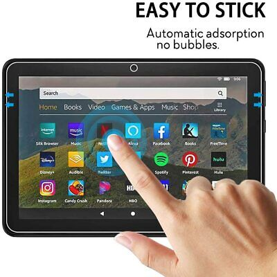 £3.95 • Buy 9H Tempered Glass Screen Protector For Amazon Kindle Fire HD 8 & 8 PLUS 10th Gen