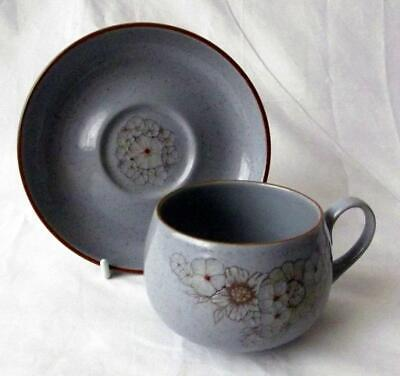 £5.25 • Buy Denby Pottery Reflections Pattern Cup And Saucer Made In Stoneware