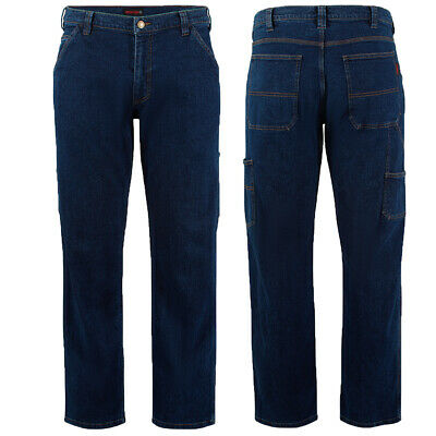 $34.99 • Buy Wolverine Work Jeans Mens Carpenter Steelhead Stretch Pant Traditional Fit Jean