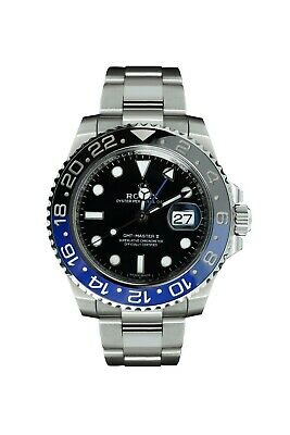 $ CDN24052.12 • Buy 2014 PAPERS Rolex GMT Master Blue 116710 BLNR Ceramic Bezel Batman Watch Box