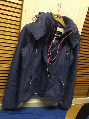 """Super Dry 021 Degree The Wind-cheater Winter Hoodie Jacket Size Small""""eur Medium • 38.50£"""