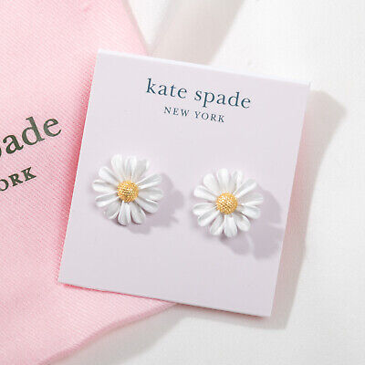 $ CDN13.14 • Buy NWT Kate Spade Into The Bloom Studs