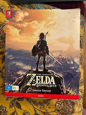 AU500 • Buy The Legend Of Zelda Breath Of The Wild Limited Edition , Nintendo Switch