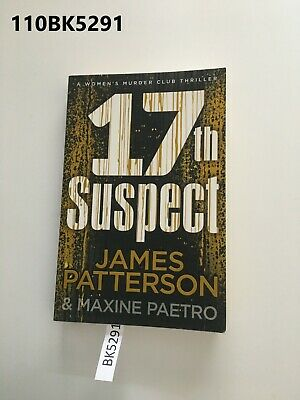 AU20 • Buy 17th Suspect By James Patterson  Paperback LOT110 110BK5291