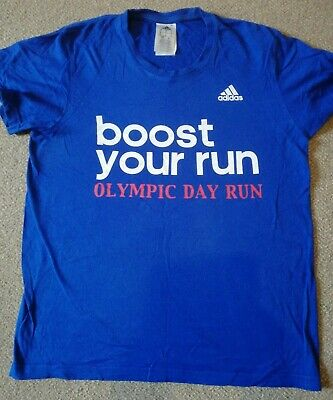 London 2012 Team Gb Olympic Day Run T -  Shirt - Size Small • 1.95£