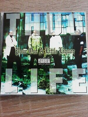 Thug Life / 2pac - Pour Out A Little Liquor Cd Single - Rare • 67£