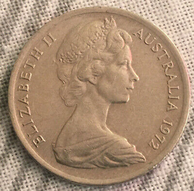 AU5.95 • Buy 1x 1972 5 CENT Circulated Coin, SCARCE   LOW MINTAGE Year
