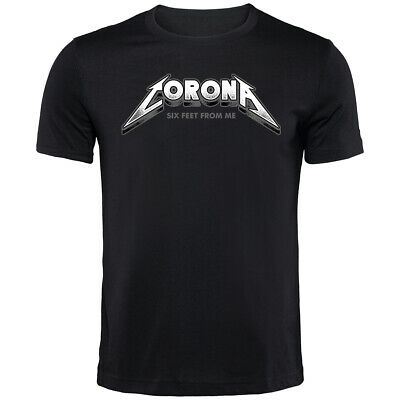 Metallica Inspired Corona T-Shirt | Funny Printed Clothing Secret Santa • 9.99£