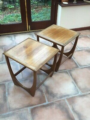 2 X Mid Century G Plan Astro Coffee / Side Table • 20.20£