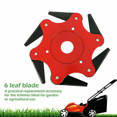 AU9.80 • Buy Trimmer Head 6 Steel Blades Razors 65Mn For Lawn Mower Grass Weed Cutter Tool OZ