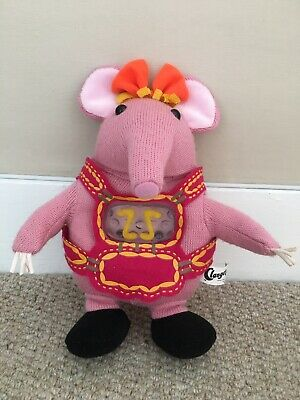 Clangers Toy Nightlight Soft Musical Starlight Lullaby. In Excellent Condition • 10£