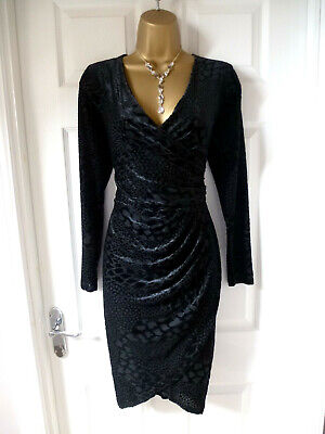 Ladies Stunning Black Dress Size 14 From Autograph At Marks And Spencer • 1.70£