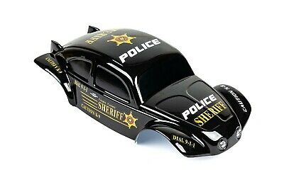 Custom Buggy Body Police Sheriff Style For 1/8 RC Truck Thunder Tiger MT4 G3  • 21.44£