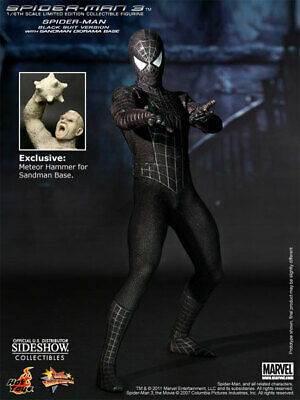 $ CDN1268.69 • Buy New Hot Toys 1/6 Spider-Man 3 Spiderman Black Suit Special  SIDESHOW EDITION