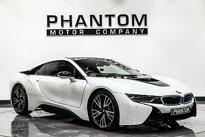 2016 BMW I8 1.5 7.1kWh Auto 4WD (s/s) 2dr Coupe Petrol Plug-in Hybrid Automatic • 48,490£