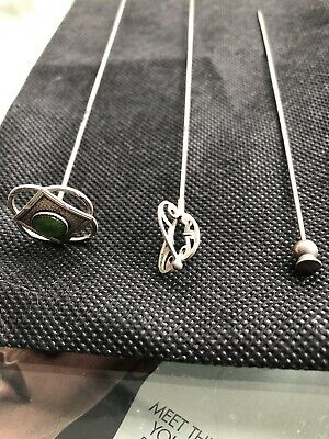 G.V & Co Silver Hat Pin (one In The Middle) • 30£