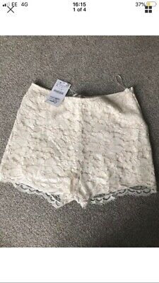 Zara Lace Shorts Brand New With Tags Size L • 8£