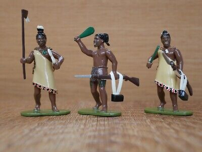 Regal Toy Soldiers Maori Warriors 1845-47 First Maori Wars With British Army • 29£