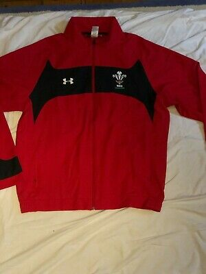 Authentic New Without Tags Wales Rugby Zipped Jacket • 15£