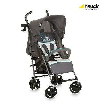 Hauck Speed Plus Buggy Stroller With Raincover Forest Fun Grey EX DISPLAY NEW • 48.95£