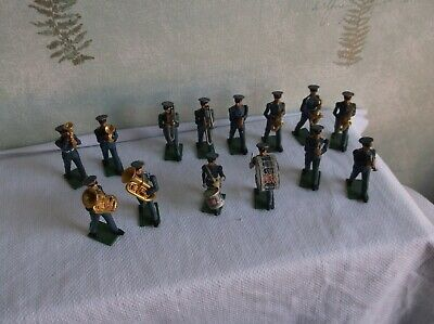 Job Lot Britains Ltd. R.a.f. Bands Soldiers Plastic Figures.with Moving Arms. • 20£