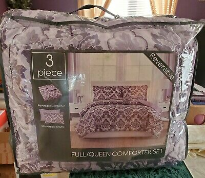 $ CDN44.31 • Buy New Three Piece Reversible Comforter Set Full/Queen