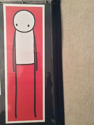 Stik Red Poster Stored Flat Perfect Condition  • 375£