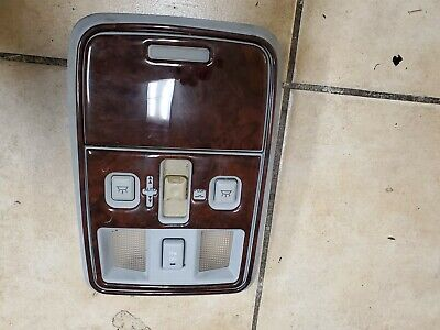 $89.95 • Buy 2003 2004 2005 2006  Lincoln Ls Overhead Console Lights Sunroof Switch Wood Trim