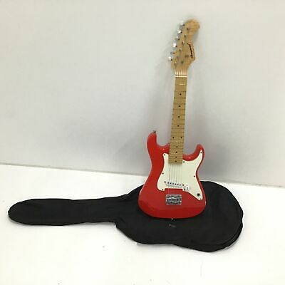 AU32 • Buy Burswood Starter Red & White Electric Guitar #416