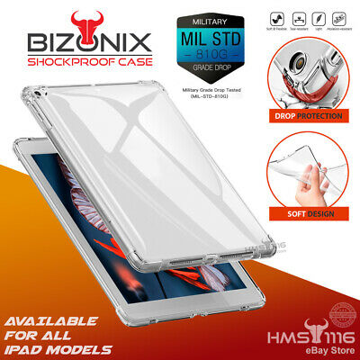 AU10.49 • Buy For Apple IPad 8th 7th 6th 5th Gen Air 3 2 Mini Pro Clear Case Shockproof Cover