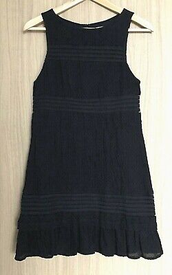 AU34.50 • Buy BRAND NEW URBAN OUTFITTERS Kimchi Blue Mesh Insert Little Black Dress Size S
