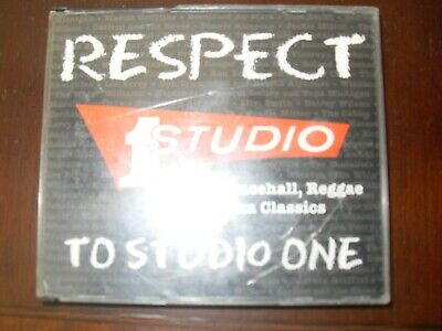 Reggae Classics  CD- Respect To Studio One - Various Artists • 4.99£