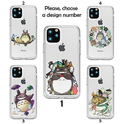 My Neighbor Totoro Case For IPhone 12 11 Pro Max XR SE X XS 8 7 Silicone SN • 9.31£