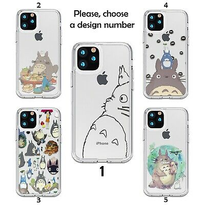 My Neighbor Totoro Case For IPhone 12 11 Pro Max XR SE X XS 8 7 SN Silicone  • 9.31£